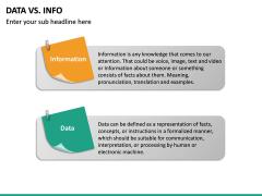 Data Vs Info PPT slide 19