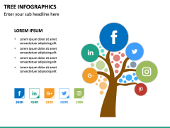 Tree Infographics PPT Slide 25