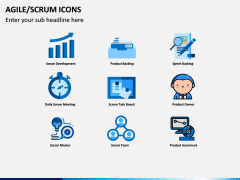 Agile SCRUM Icons PPT Slide 3