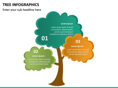 Tree Infographics PPT Slide 23