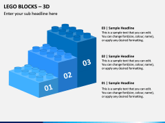 Lego blocks PPT slide 3