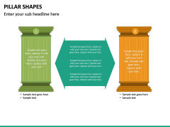 Pillar Shapes PPT Slide 24