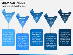 Vision and Targets PPT Slide 9