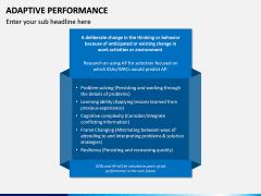 Adaptive Performance PPT Slide 5