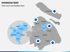 Shanghai Map PPT Slide 5