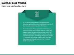 Swiss Cheese Model PPT Slide 15