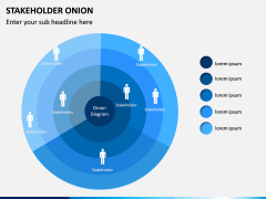 Stakeholder Onion PPT Slide 2