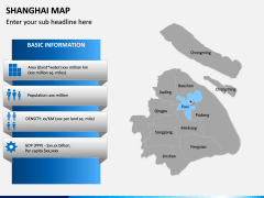 Shanghai Map PPT Slide 8