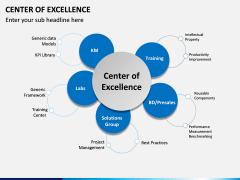 Center of Excellence PPT Slide 1