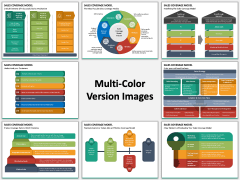 Sales Coverage Model Multicolor Combined