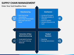 Supply Chain Management PPT Slide 8