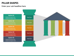 Pillar Shapes PPT Slide 23