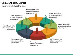 Circular ORG Chart PPT Slide 42