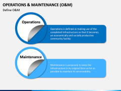 Operations and Maintenance PPT Slide 1