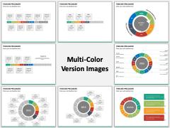 Timeline Preloader Multicolor Combined