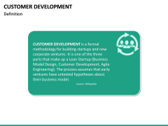 Customer Development PPT slide 16