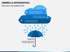 Umbrella Infographics PPT Slide 11