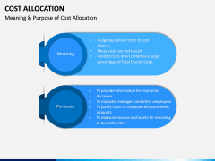 Cost Allocation PPT Slide 6