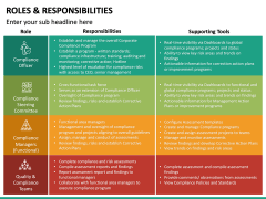 Roles and Responsibilities PPT Slide 44