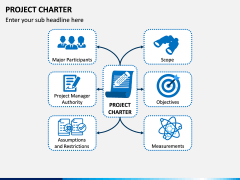 Project Charter PPT slide 1