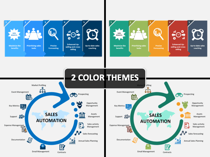 Sales Automation PPT Cover Slide