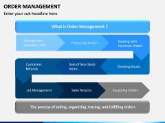 Order Management PPT slide 2