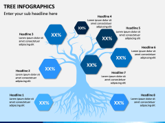 Tree Infographics PPT Slide 11