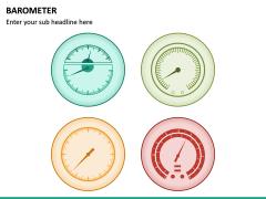 Barometer Icons PPT Slide 19