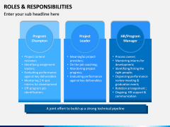 Roles and Responsibilities PPT Slide 5