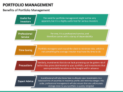 Portfolio Management PPT Slide 36