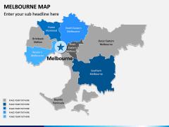Melbourne Map PPT Slide 7