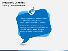 Marketing Channels PPT slide 1