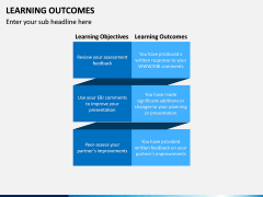 Learning Outcomes PPT Slide 12