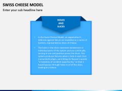 Swiss Cheese Model PPT Slide 1