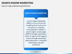 Search engine marketing PPT slide 2