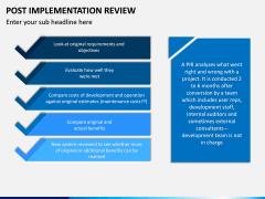 Post Implementation Review PPT Slide 4