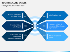 Business Core Values PPT Slide 6