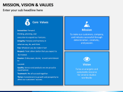 Mission, Vision and Values PPT Slide 20