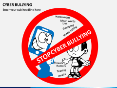 Cyber Bullying PPT slide 1