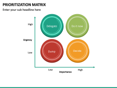 Prioritization Matrix PPT Slide 12