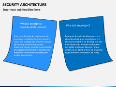 Security Architecture PPT Slide 1