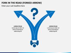 Fork in the Road PPT Slide 3