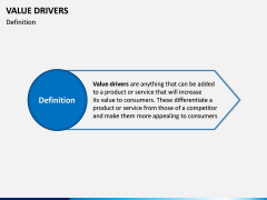 Value Drivers PPT Slide 1