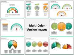 Speedometer Multicolor Combined