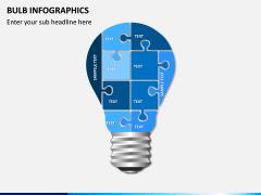 Bulb Infographics PPT Slide 14