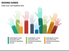 Raising Hands PPT Slide 15