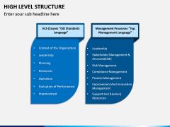High Level Structure PPT Slide 6