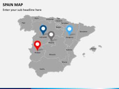Spain map PPT slide 5