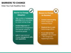 Barriers to Change PPT slide 17