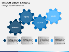 Mission, Vision and Values PPT Slide 17